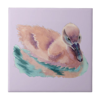 """Not an Ugly Duckling"" Tile"