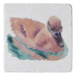 """Not an Ugly Duckling"" Trivet"
