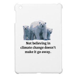 Not believing in climate change iPad mini case