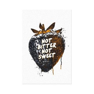 Not Bitter Not Sweet Canvas Print