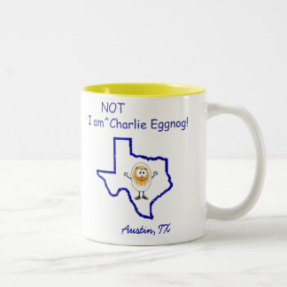 Not Charlie Eggnog Mug