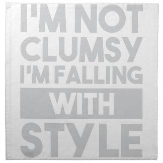 Not Clumsy Napkin