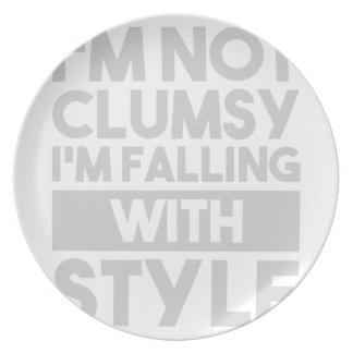 Not Clumsy Plate