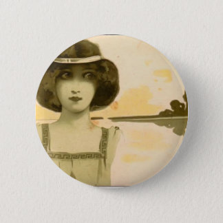 NOT DETECTED by Jacopo Bellini 2 Inch Round Button