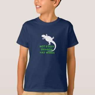 Not Every Dragon Has Wings - Green T-Shirt