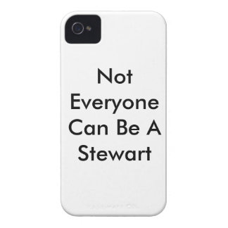 Not Everyone Can Be A Stewart - White Case