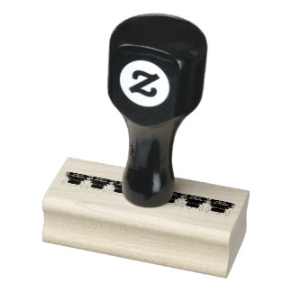 Not fat, just pregnant rubber stamp