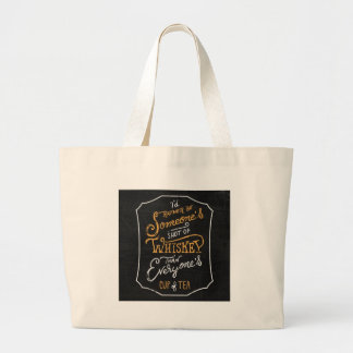not for everyone. large tote bag