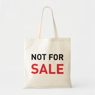 Not for sale bag