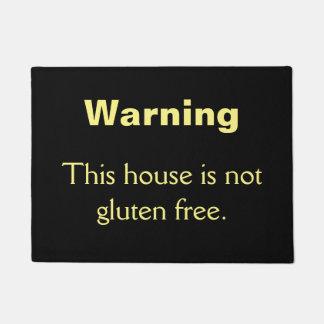Not gluten free doormat