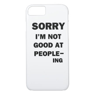 Not Good at People - Ing iPhone 8/7 Case