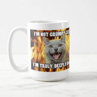 Not grumpy cat mug