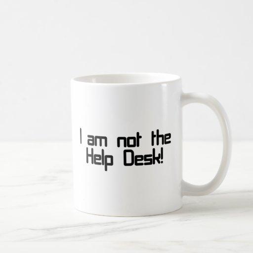 Not Help Desk Classic White Coffee Mug