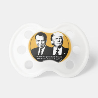 Not Illegal President Baby Pacifiers