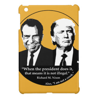 Not Illegal President iPad Mini Cases