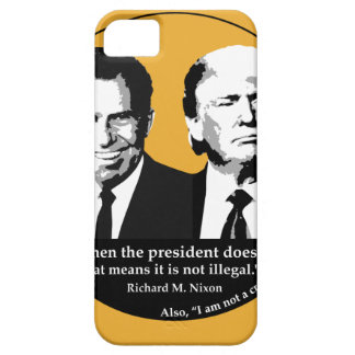 Not Illegal President iPhone 5 Cases