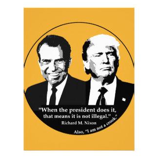 Not Illegal President Letterhead