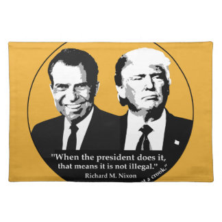 Not Illegal President Placemat