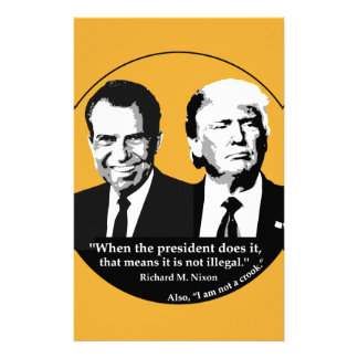 Not Illegal President Stationery