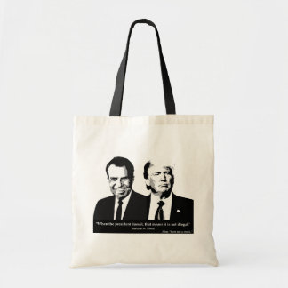 Not Illegal President Tote Bag
