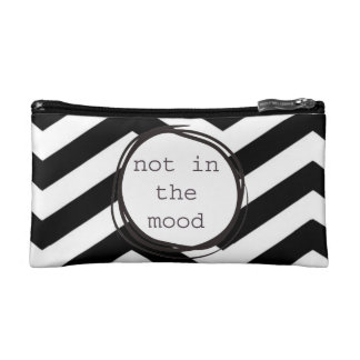 Not in the Mood funny Makeup Bag