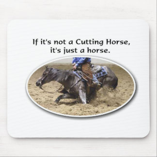 not just a horse mouse pad