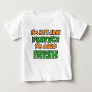 Not Just Perfect Irish Baby T-Shirt