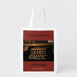 Not just small change Reusable shopping bag