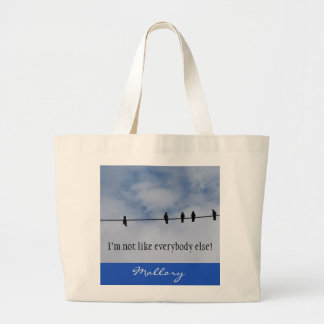 Not Like Everybody Else Bird Tote Bag