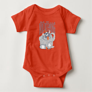 Not Listening, by Greg Abbot. Baby Bodysuit