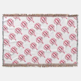Not Lost, Just Wandering Travel Slogan Throw Blanket