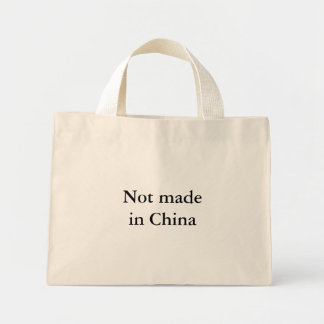 Not made in China Mini Tote Bag