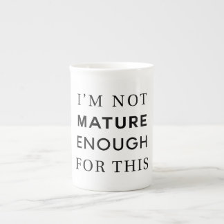 Not Mature Tea Cup