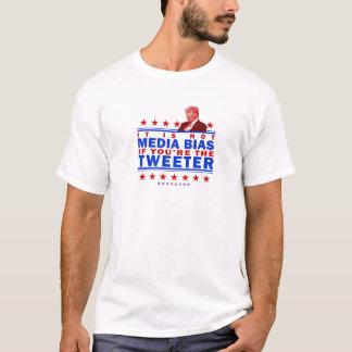 Not Media Bias Twitter T-Shirt