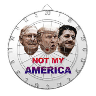 Not My America Dartboard