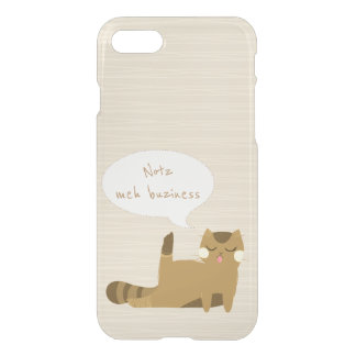 """Not my business"" Cat iPhone 8/7 Case"