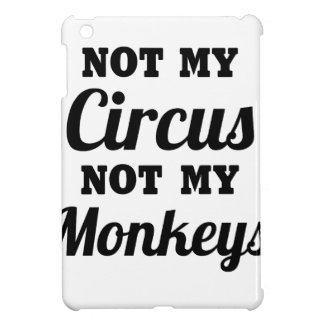 Not My Circus iPad Mini Cover