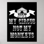 Not My Circus Poster