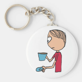 Not My Cup Of Tea Keychain