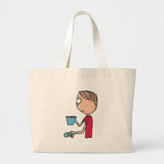 Not My Cup Of Tea Large Tote Bag
