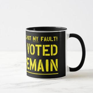 Not My Fault Mug