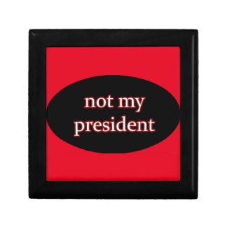 not my president gift boxes