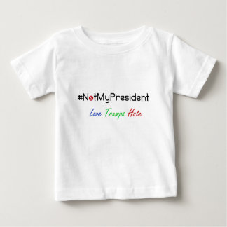 Not My President Never Trump Tshirt