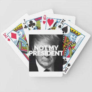 not my president poker deck