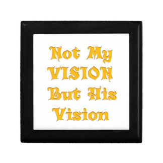 Not my Vision but His Vision Gift Box