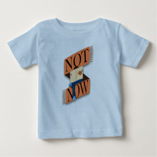 Not now, I'm reading Baby T-Shirt