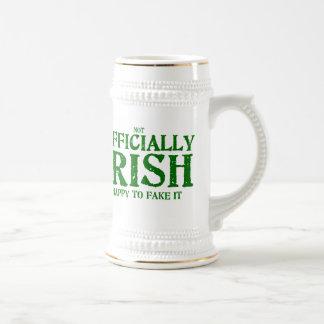 (not) Officially Irish Beer Stein