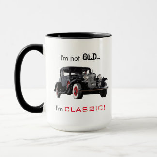 Not Old But Classic Vintage Car Funny Mug