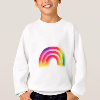 Not one or two, but three rainbows! sweatshirt