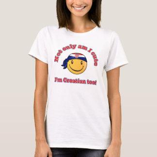 Not only am I cute I'm Croatian too! T-Shirt